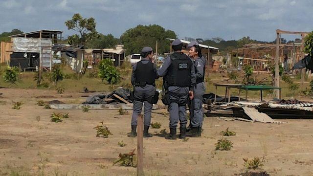 Policiais cumpriram reintegração sem resistência