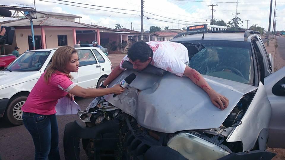 Repórter amapaense vira sensação nas redes sociais