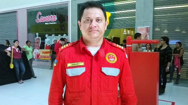 coordenador da brigada, Janary Brandão