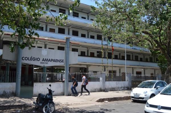 Colégio Amapaense é uma das escolas contempladas com ensino em tempo integral. Foto: arquivo/SELESNAFES.COM