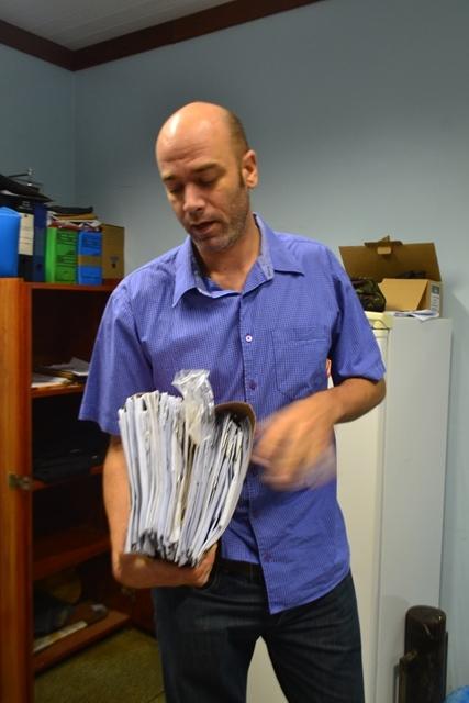 Delegado Glemerson Arandes, da DECCP: um completou 18 anos 3 dias depois do crime. Foto: Arquivo