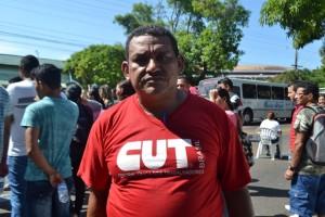 José Cabral, vigilante que está há três meses sem receber