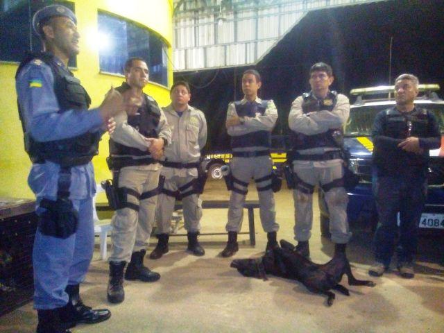 Forças policiais integradas