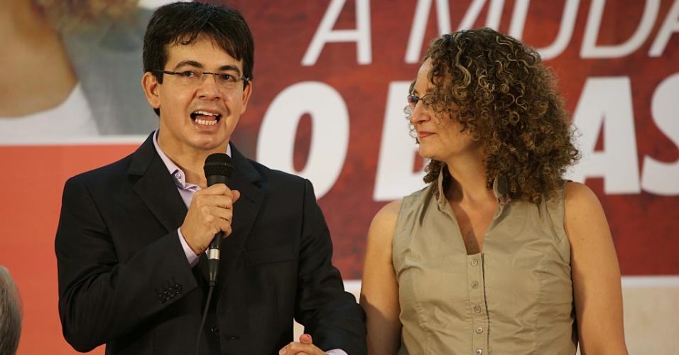 Randolfe e Luciana Genro: crise dentro do Psol