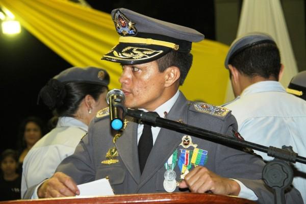 Aclemildo Barbosa quando era comandante da PM: desembargador considerou que diálogos demonstraram tensão política
