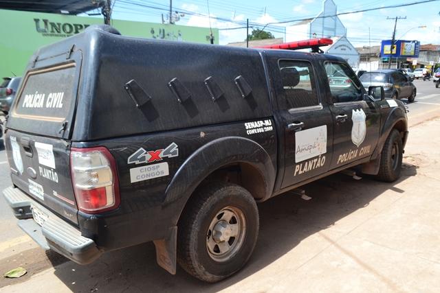 """Pane seca"" paralisa Polícia Civil do AP"