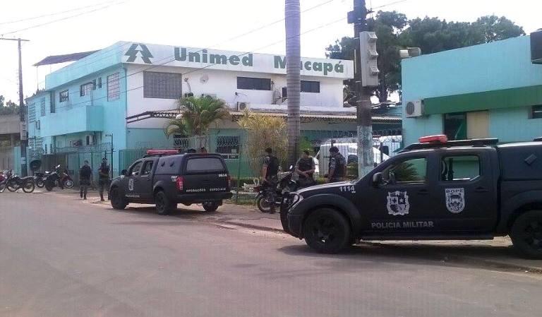 Casal rouba R$ 40 mil da Unimed