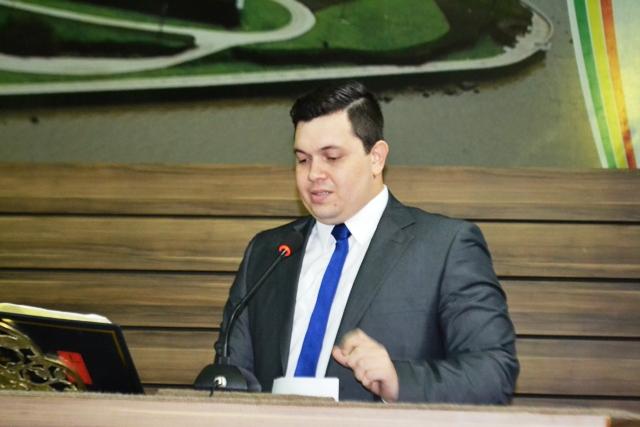 Vereador Acácio Favacho é o autor do projeto