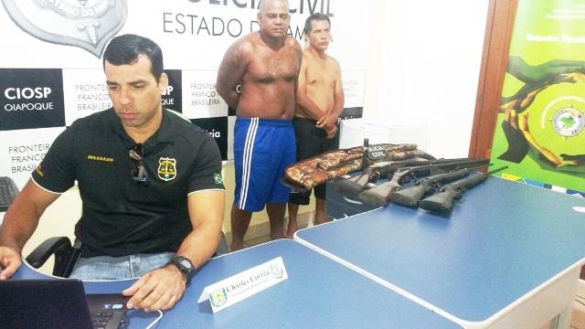 Delegado Chales Charles Corrêa -finalizando a prisão de traficantes de armas