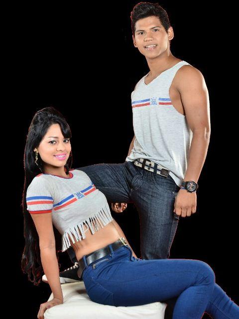 Jhonatan Lima e Aline Araújo, do Colégio Amapaense