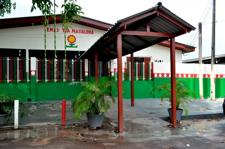 escola municipal macapá