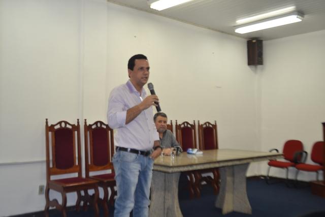 Josenildo Abrantes,  secretário de Fazenda: Estado está descontando o que foi antecipado. Foto: SelesNafes.Com