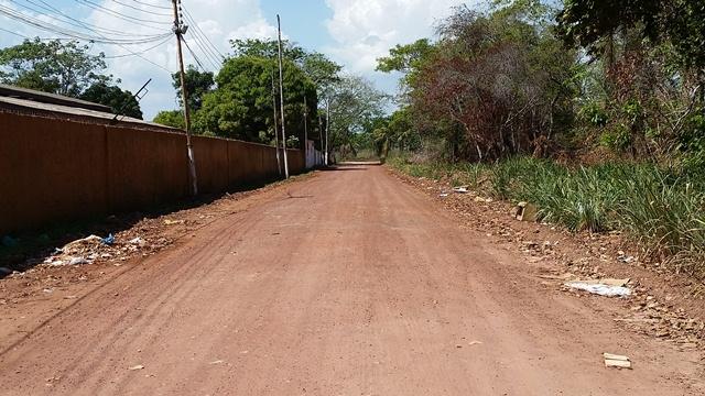 Ramal do CD Rural será asfaltado: escoamento de produtos. Foto: Seles Nafes