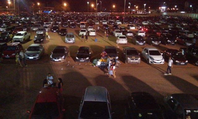 Ocorrências mais comuns foram desentendimentos ocorridos na área do estacionamento