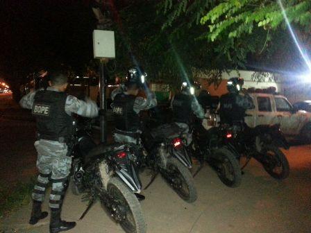 """Policiais da  Equipe """"Giro do Bope"""