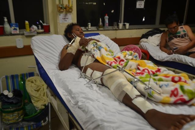 Isaac Silva esperando pela cirurgia há mais de uma semana