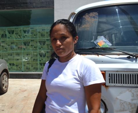 Marta dos Santos afirma que não recebeu nenhuma visita de avaliação