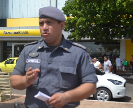 Capitão Pedro Davi: 30 viaturas nas ruas
