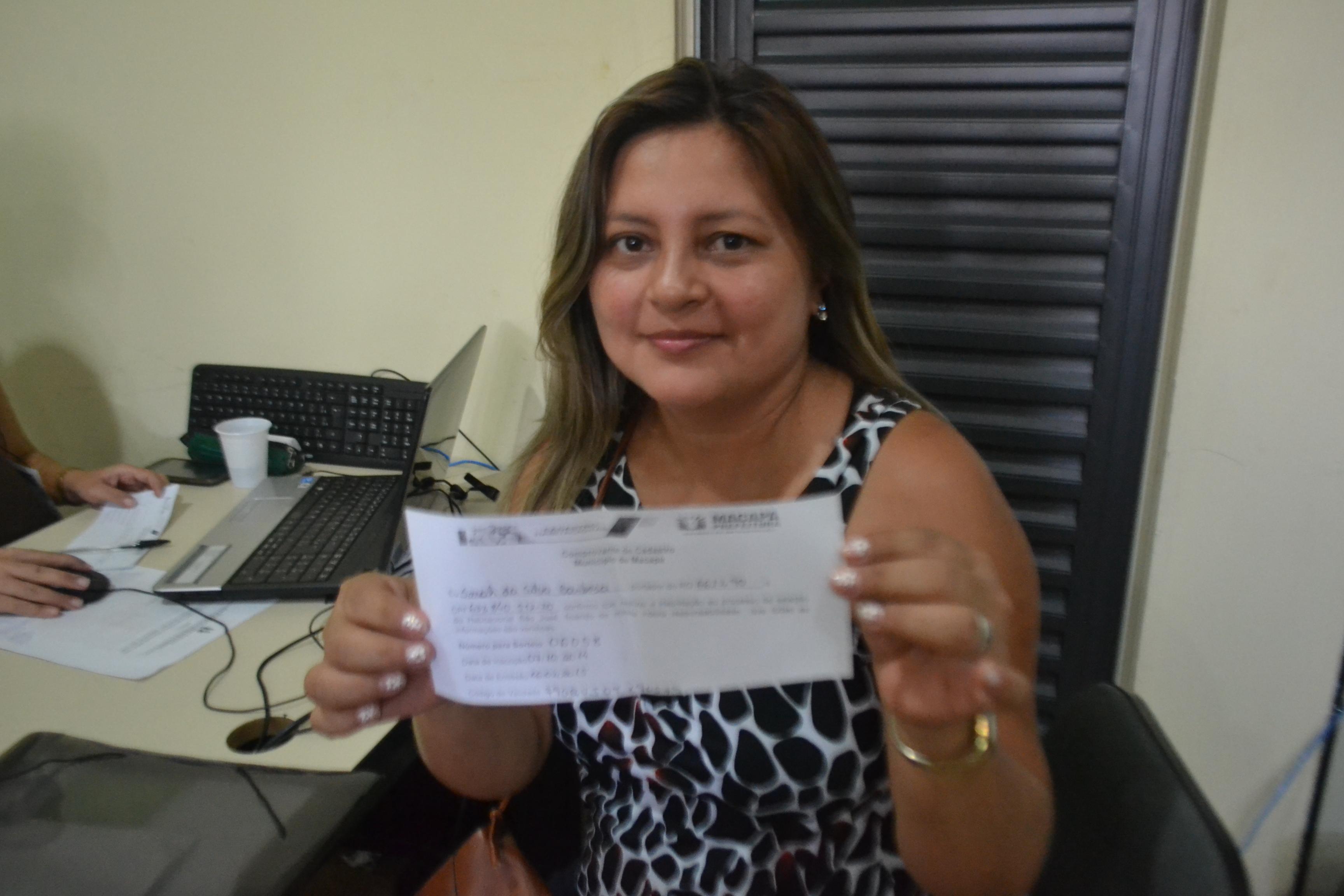 Sara Barbosa: esperança de ter a casa própria
