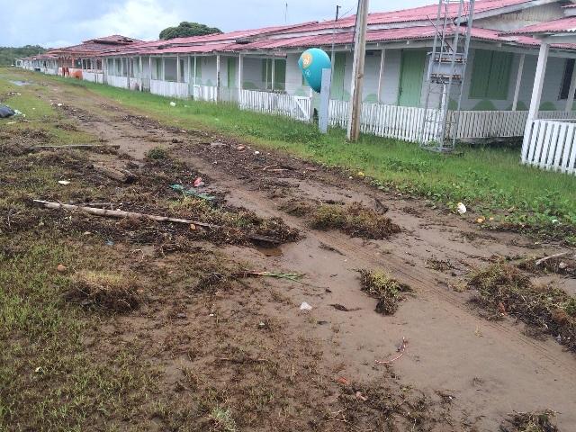 Alojamentos para turistas  também podem ser destruídos