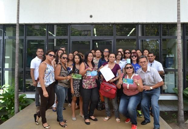 no palácio do setentrião: Professores do CCA fazem novo protesto contra nomeação de diretor
