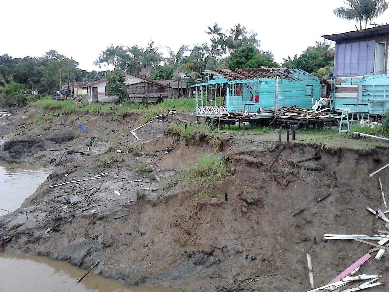 Erosões ocorreram pela última vez em abril de 2016. Foto: Arquivo/SELESNAFES