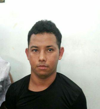 Elielson se identificou com nome falso. Fotos: Dicom/BRPM