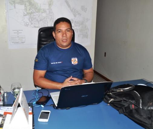 Tenente coronel Janary, da Defesa Civil: monitoramento constante