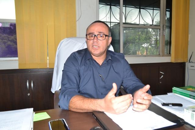 Secretário adjunto Fernando Nascimento: é para evitar contaminação