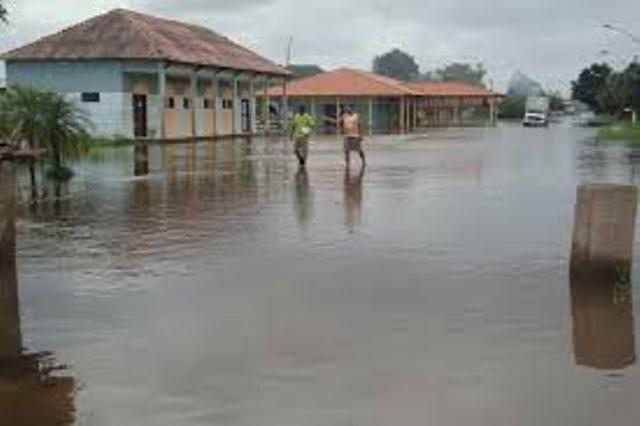 No interior do Estado algumas regiões já estão inundadas