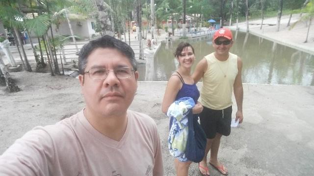 Tradicional selfie com jane e Jamison