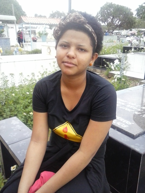 Thayse, filha do taxista pede justiça
