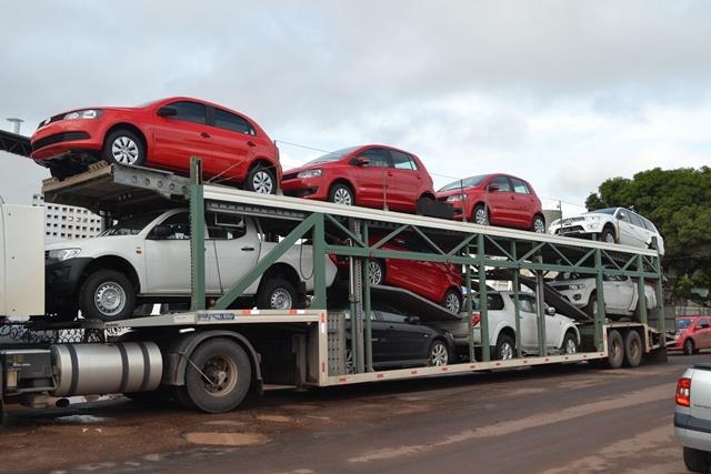 Segundo o Ibge, setores do varejo como a venda de carros teve decréscimo. Foto: Arquivo/Site