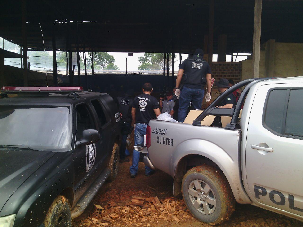 A Polícia Civil realizou uma grande operação para o transporte da droga