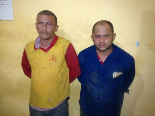 Ramiro e Wenes: procurados em dois estados