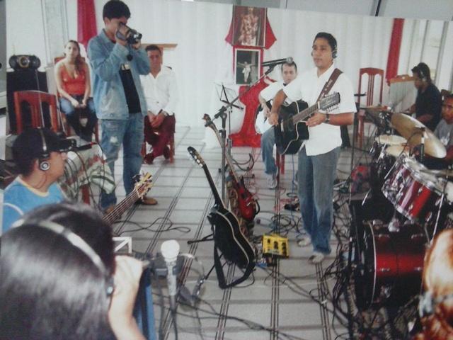 Ensaio das bandas que participam das apresentações