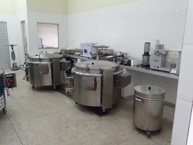 Cozinha readequada às exigência do Ministério do Desenvolvimento Social