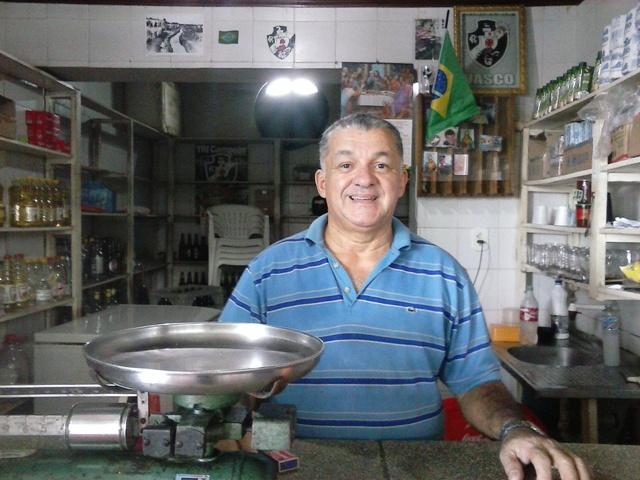 Marco Antonio de Moraes, trabalha no mercado há mais de 40 anos