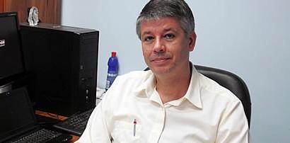 Delegado Alan Moutinho: o suspeito não quis falar