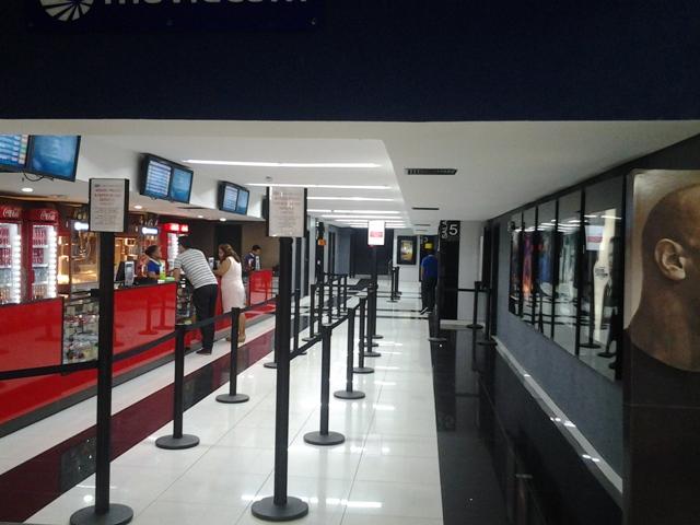Movie Com tem 5 das 7 salas em funcionamento