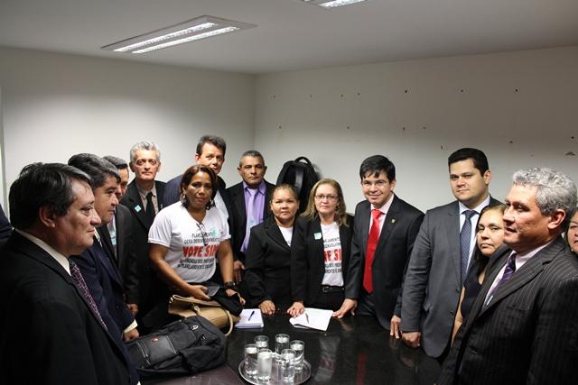 MP com texto original aprovada por sete votos de diferença. Foto: Ascom/Randolfe Rodrigues