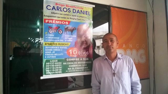 Agenilson, pai de Carlos: a luta agora é por outras crianças como Carlos