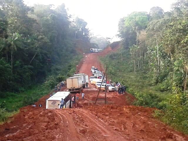 Ainda faltam 112 quilômetros para completar a pavimentação da BR-156