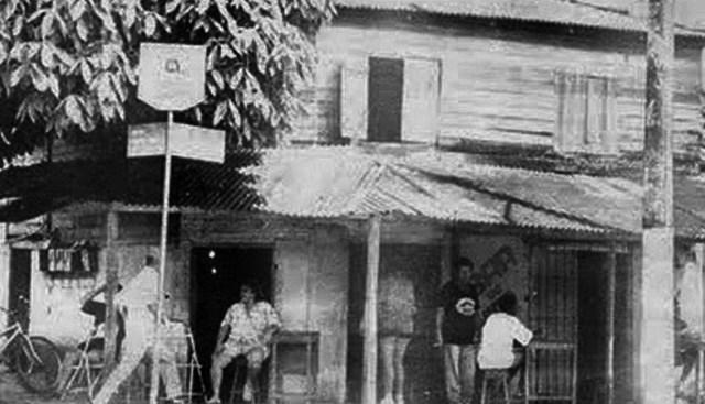 """Bar Caboclo também era conhecido como """"Bar do Chico"""", pouco antes de fechar. Reprodução: Blog Porta Retrato"""