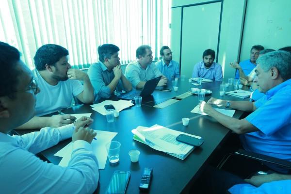 Reunião entre representantes das hidrelétricas e o Imap logo depois do acidente