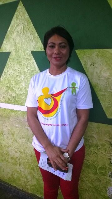 A médica Rosilene Trindade é uma das coordenadoras da campanha no AP