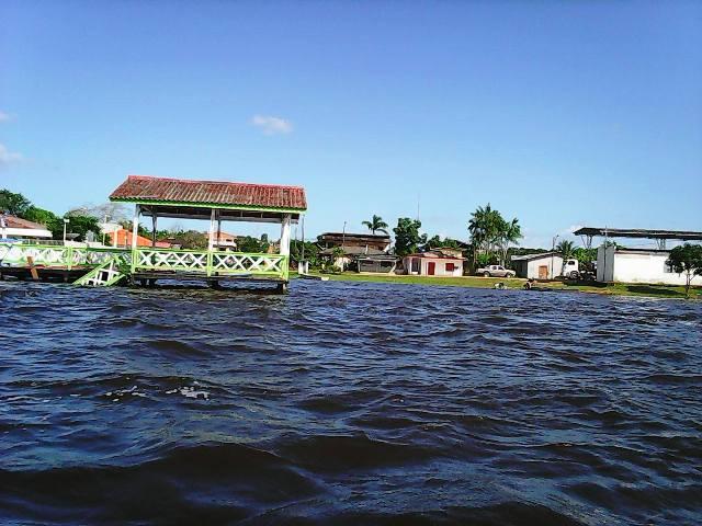 A inundação atingiu a sede de Ferreira Gomes e regiões ribeirinhas