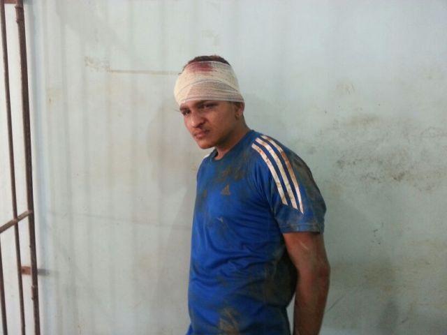 Jeremias, de 23 anos, ainda não tinha passagem pela polícia: agredido com tijolo