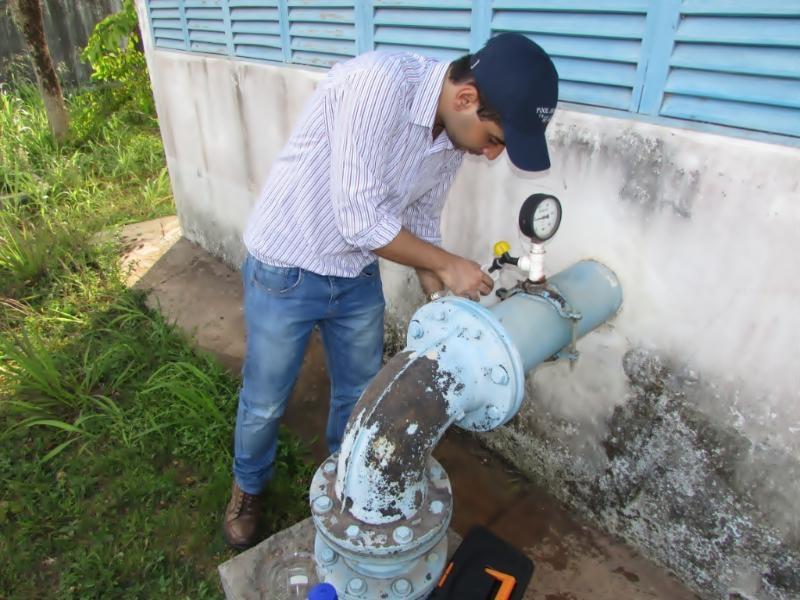 Segundo a Caesa, não existe risco de contaminação do meio ambiente