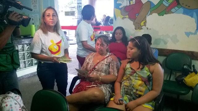 Médicos visitam hospitais para disseminar a campanha